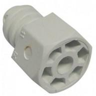 204 PATA REGULABLE PLASTICO 40mm BLANCA ( Entrega aprox: 3 - 4 días )