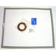 10920 BURLETE PUERTA CONGELADOR GRIS (Material de encargo : ver condiciones de venta) ( Entrega aprox: 3 - 4 días )