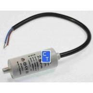 7916 CONDENSADOR COMPRESOR 2.5MF PLASTICO CON CABLE ( Entrega aprox: 3 - 4 días )